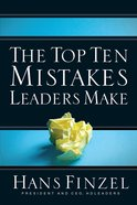 The Top Ten Mistakes Leaders Make eBook