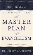 The Master Plan of Evangelism eBook