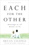 Each For the Other eBook