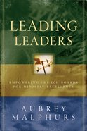 Leading Leaders eBook