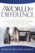 A World of Difference eBook