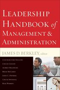 Leadership Handbook of Management and Administration eBook