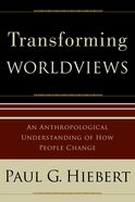 Transforming Worldviews eBook