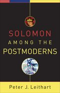 Solomon Among the Postmoderns eBook