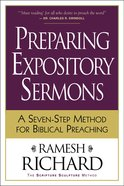 Preparing Expository Sermons eBook