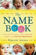 The Name Book eBook