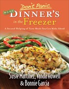 Don't Panic More Dinner's in the Freezer eBook