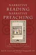 Narrative Reading Narrative Preaching eBook