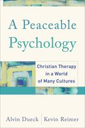 A Peaceable Psychology eBook