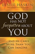 God Has Not Forgotten About You eBook
