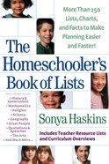The Homeschooler's Book of Lists eBook