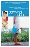 Growing Friendships eBook