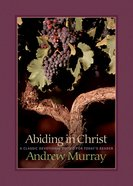 Abiding in Christ eBook