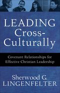 Leading Cross-Culturally eBook