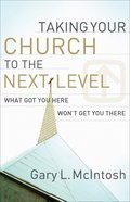 Taking Your Church to the Next Level eBook