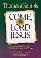Come, Lord Jesus eBook