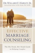 Effective Marriage Counseling