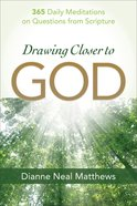 Drawing Closer to God eBook