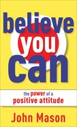 Believe You Can eBook