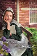 More Than Words (#02 in Daughters Of Amana Series) eBook