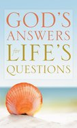 God's Answers For Life's Questions eBook