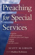 Preaching For Special Services eBook