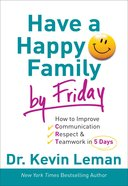 Have a Happy Family By Friday eBook