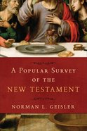 A Popular Survey of the New Testament eBook