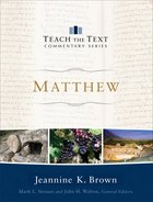 Matthew (Teach The Text Commentary Series) eBook