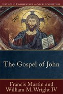 The Gospel of John (Catholic Commentary On Sacred Scripture Series) eBook