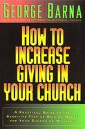 How to Increase Giving in Your Church eBook