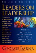 Leaders on Leadership (The Leading Edge Series) eBook