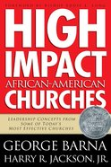 High Impact African-American Churches eBook