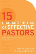 15 Characteristics of Effective Pastors eBook