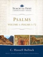 Psalms #01: Chapters 1-72 (Teach The Text Commentary Series) eBook