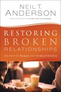 Restoring Broken Relationships eBook