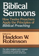 Biblical Sermons eBook