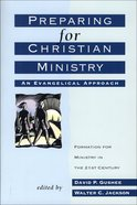 Preparing For Christian Ministry eBook