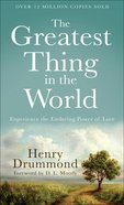 The Greatest Thing in the World eBook