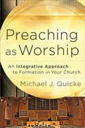 Preaching as Worship eBook