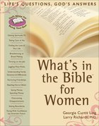 What's in the Bible For Women eBook