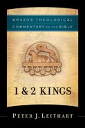 1 and 2 Kings (Brazos Theological Commentary On The Bible Series) eBook