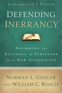 Defending Inerrancy eBook