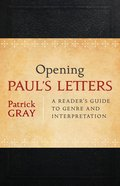 Opening Paul's Letters eBook
