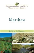 Matthew (Understanding The Bible Commentary Series) eBook
