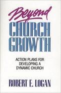 Beyond Church Growth eBook