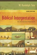 Biblical Interpretation eBook