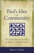 Paul's Idea of Community eBook