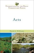 Acts (Understanding The Bible Commentary Series) eBook