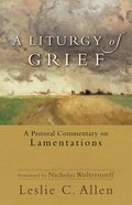 A Liturgy of Grief eBook